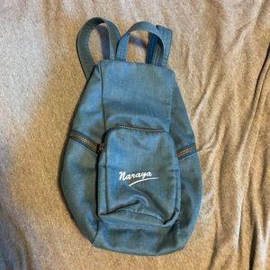 Naraya back zip backpack